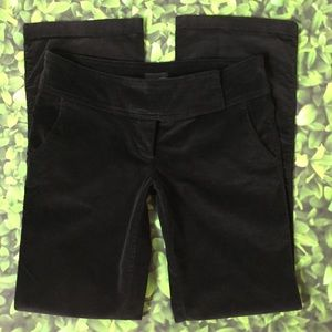 The Limited Drew Fit black fine whale cords size 4